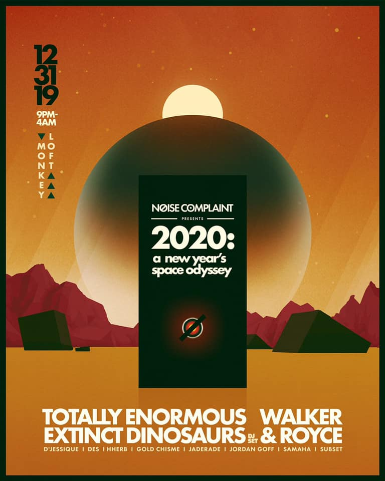 NYE 2020: Totally Enormous Extinct Dinosaurs, Walker & Royce and more!