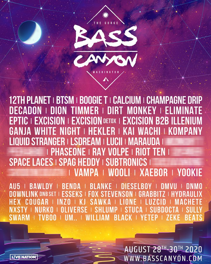 Bass Canyon Festival