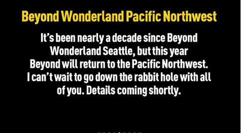 Beyond Wonderland PNW