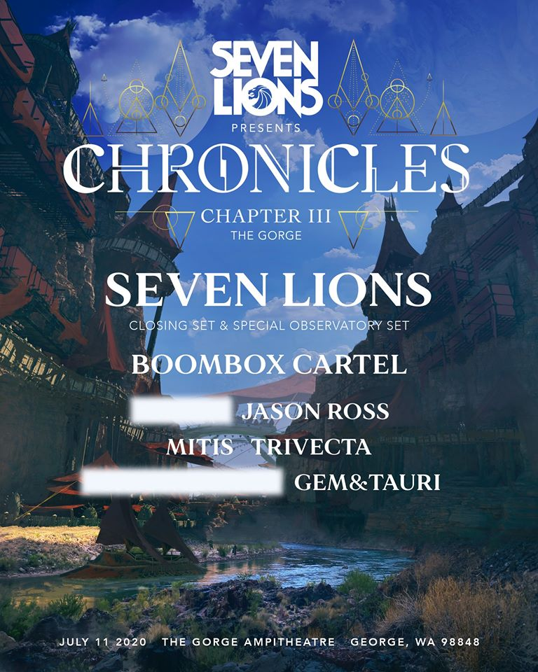 Seven Lions at The Gorge: CANCELED