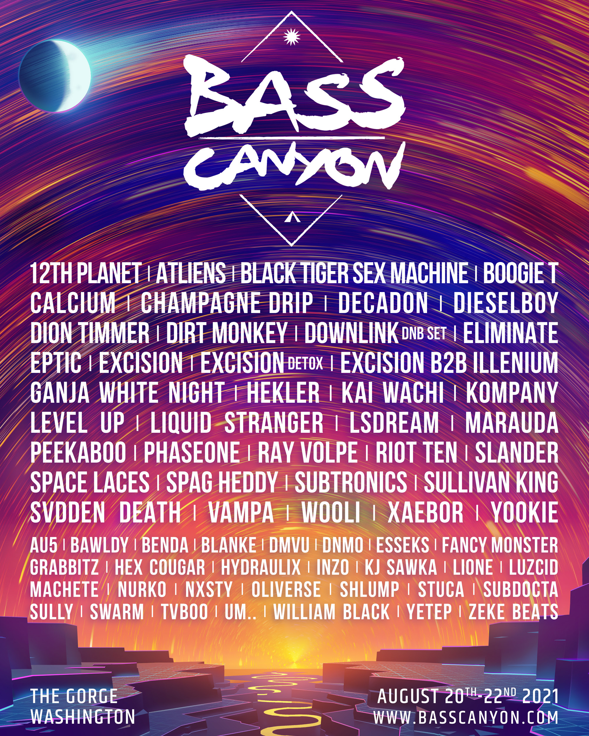 Bass Canyon Festival