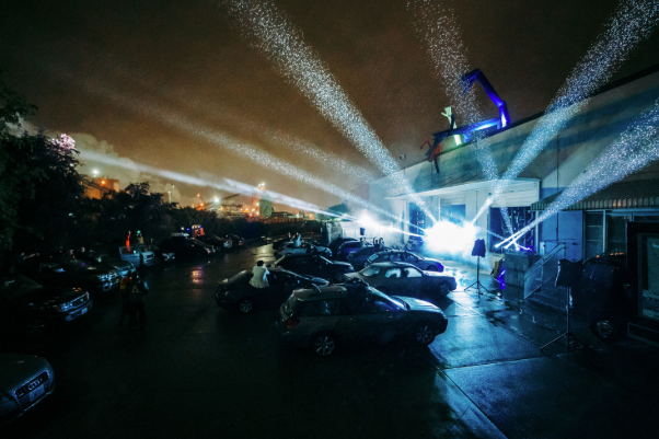 """Drive Through Spiritual Experience"": Seattle's First Drive-In EDM Show"